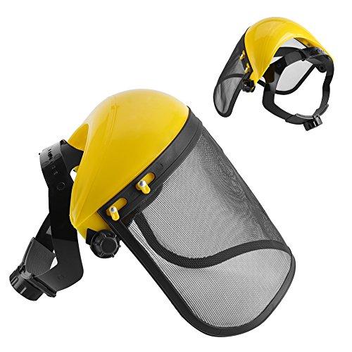 Cappello casco di sicurezza con protezione integrale protettiva decespugliatore visiera forestale maglia lavoro Bump Cap
