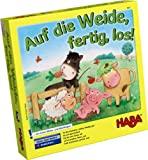 HABA 4937 - Kinderspiel - Auf die Weide, fertig, los