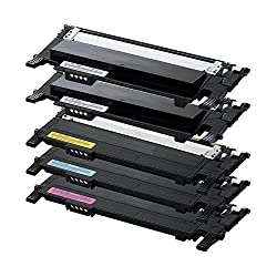 4Benefit 4 Pack Compatible toner cartridges for Samsung CLP-365 Toner Cartridges CLT-406S for Samsung K406S C406S M406S Y406S 406S Combo Set Pack 5