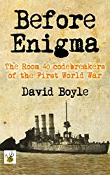 Before Enigma: The Room 40 Codebreakers of the First World War