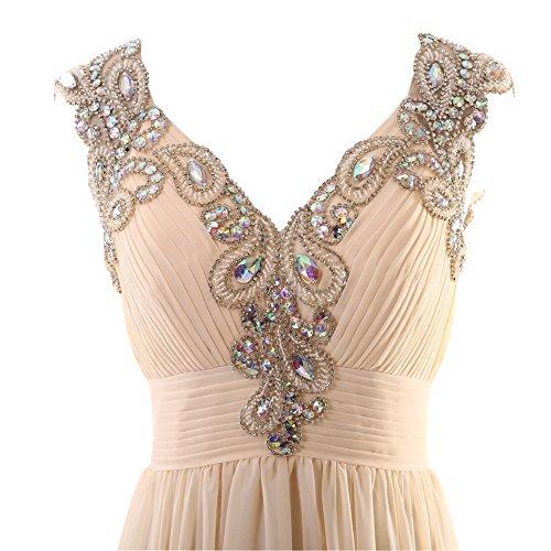 YiYaDawn -  Vestito  - linea ad a - Donna Lavanda