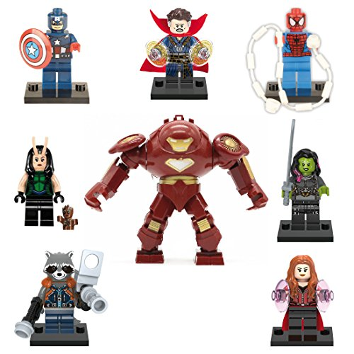 XH 8 Minifigures of Avengers - Infinity War. 3 Models (Kit 24)
