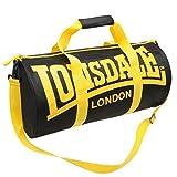 Lonsdale-Bolsa De deporte, color negro y amarillo, represión X 52 X D26cm
