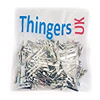 Thingers UK Silver Pegs - Mini 2.5cm Plastic Pegs - Pack of 30