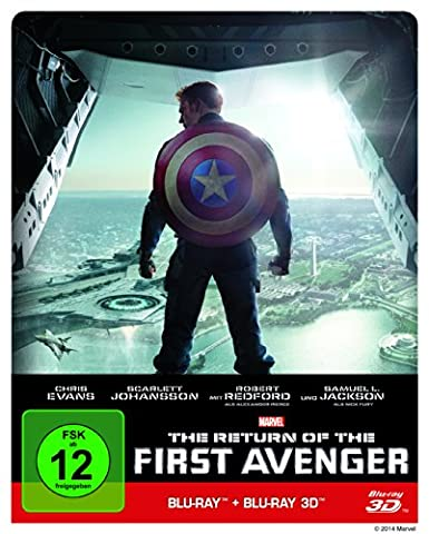 The Return of the First Avenger (Steelbook) (+ Blu-ray 3D)