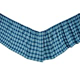 VHC Brands Regatta King Bed Skirt 78x80x16