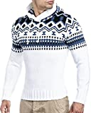 Leif Nelson Strickpullover mit Kapuze