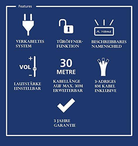 Smartwares Intercom, white, 10.007.47