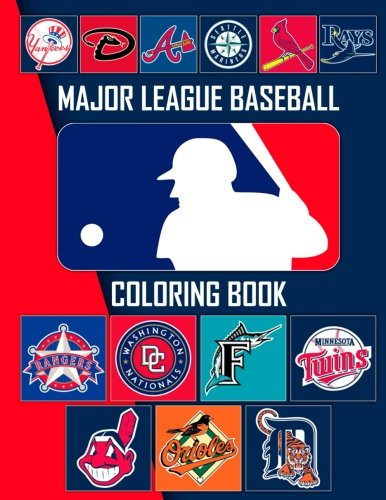 Mlb Team Baseballs (Major League Baseball Coloring Book: MLB Team Logos)