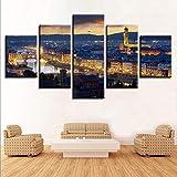 zxfcczxf Leinwand Gemälde Wohnkultur Modulare HD Drucke 5