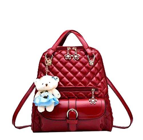Borsa A Tracolla Yy.f Zaino Femminile New Wave I Nuovi Sacchetti Di Scuola Borse Moda Portano Air Bag Multicolore Pink