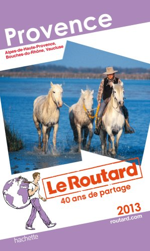 Le Routard Provence 2013