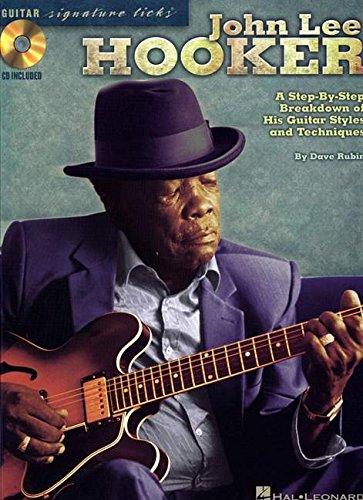 John Lee Hooker: Signature Guitar Licks (Guitar Signature Licks) por Dave Rubin