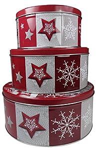 'khevga Tarro de galletas Navidad