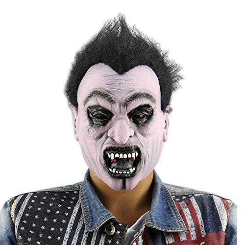 Kostüm Männer Scary Clown - wnddm Gruselig Scary Halloween Cosplay Kostüm Maske Für Erwachsene Party Dekoration Requisiten lustige Mann Maske Horror Latex Clown Maske haube