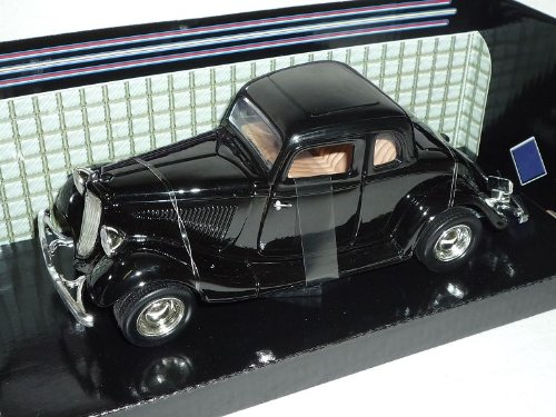 Ford Coupe 1934 Hard Top Schwarz Oldtimer 1/24 Motormax Modellauto Modell Auto