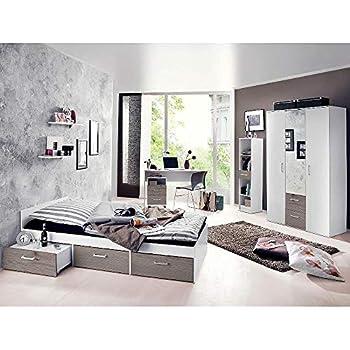 lifestyle4living Jugendzimmer, komplett, Set, Jungen