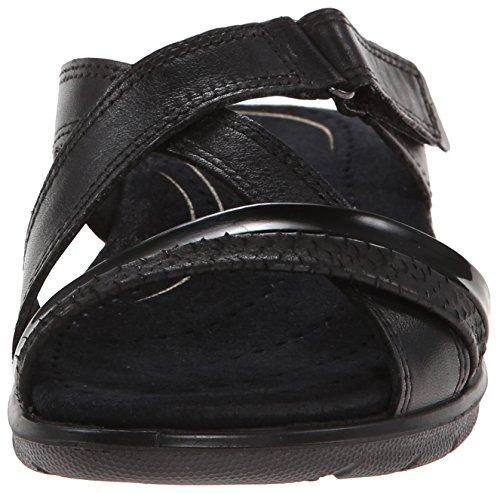 Ecco Babett 2140535, Sandales femme Noir (Black)