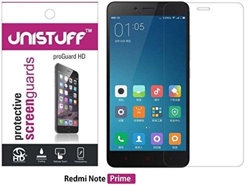 Unistuff™ Diamond Sparkling Glitter Screen Guard for Redmi Note Prime  available at amazon for Rs.199