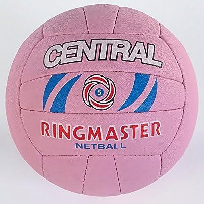 Central deportes de equipo Match y formación 18Panel Ringmaster Netball Tamaño de la bola 4–5