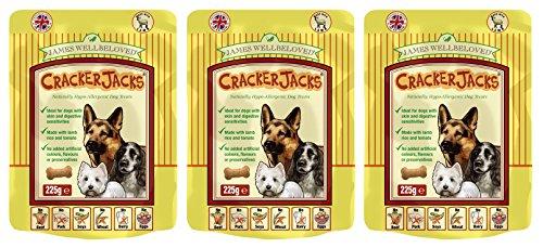 3-x-225g-james-wellbeloved-crackerjacks-lamb-rice-and-tomato-dog-treats-multibuy