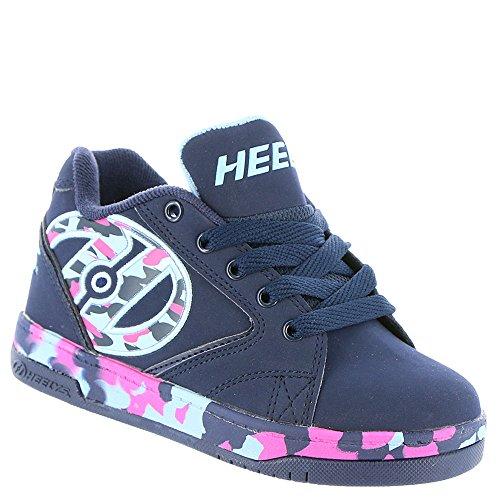 Heelys Propel 2.0, Chaussures de Tennis Fille Bleu (Navy / Pink / Light Blue / Confetti)