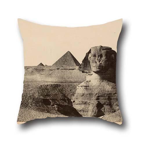 Pittura a olio Maxime du Camp–le Sphinx, Egitto Moyenne federa 40,6x 40,6cm/4040cm di scelta migliore regalo perfetto per madre, divano, Play Room, coffee House, Son, adulti con ogni lato