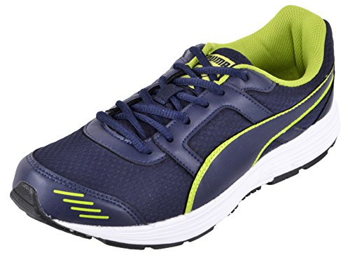 PUMA Men's Blue Mesh Running Shoes - 7 UK