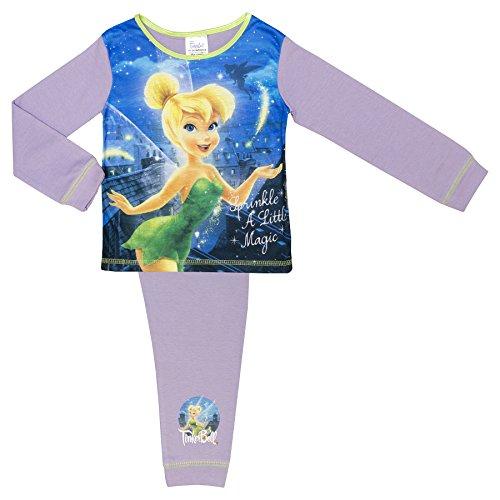 Tinkerbell Mädchen Pyjamas (Disney Tinkerbell Mädchen Pyjamas - 18 Monate bis 5 Jahre - 3-4 Years)