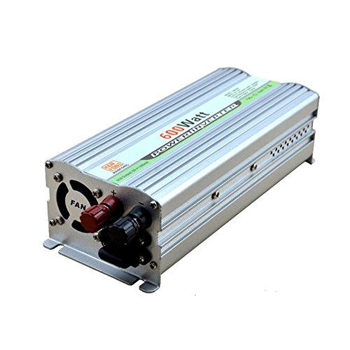 BQ Spannungswandler @ Spannungswandler,Power Inverter Peak DC 12V bis AC 220V Stromrichter Wechselrichter Stromversorgung (600W Silber) 600 600w Power Inverter
