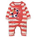 Bóboli Unisex Baby Spieler Velour Play Suit For, Mehrfarbig (Stripes 9547), 80