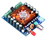 DollaTek TDA7850 Amplificateur de puissance audio numérique Ampli Board Hifi Audio stéréo Amplifier 50Wx4 Channel DC 12-16V AMP Board avec ventilateur de refroidissement pour système de son Car Home Speaker Computer Speaker Kit