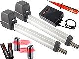 Sommer Twist 200E Drehtorantrieb 2-flüglig + 2 Stück 2-Befehl Handsender 4026 + Lichtschranken 7029 Set 4in1G