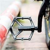Mlec Tech 1paio MTB pedale in lega di alluminio bicicletta cuscinetto pedali mountain bike pedali Road bike pedali in lega di alluminio pieghevole bici pedali della bicicletta