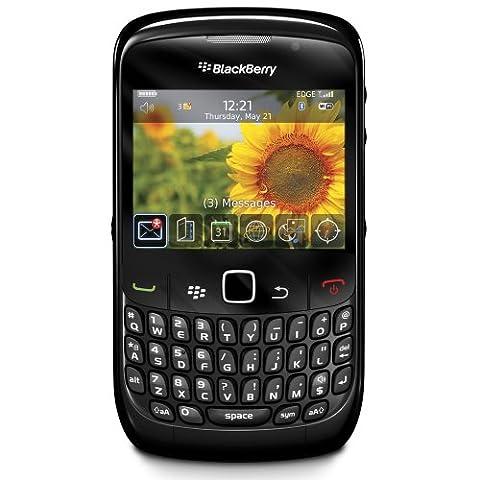 BlackBerry Curve 8520 Smartphone (QWERTY, Bluetooth, 2MP, Push-Service) [UK-Import] schwarz
