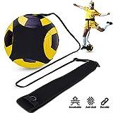 Doact Fußball Kick Trainer, Solo Fußball Trainingshilfe - Hände Frei mit Verstellbarem Taillengürtel - für Kinder Anfänger Kick Off Trainer