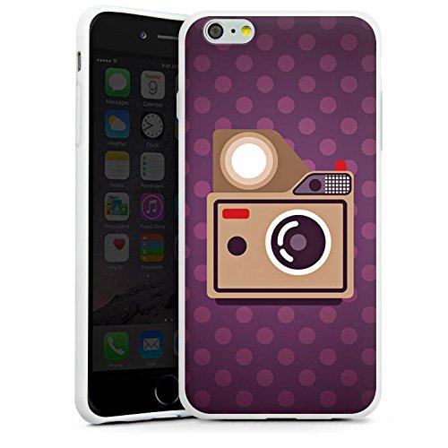 Apple iPhone X Silikon Hülle Case Schutzhülle Foto Kamera Fotografie Silikon Case weiß