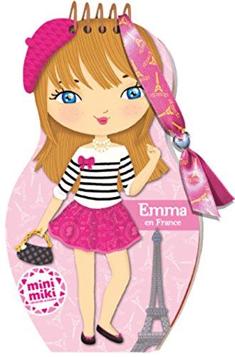Minimiki - carnet cratif - Emma en France