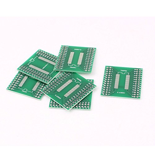 sourcingmap® 6stk 0,635 mm 0,8 mm SSOP 56 TSSOP 56 bis 2,54 mm DIP 56 SMD IC PCB Adapter Buchse (Ic-adapter)