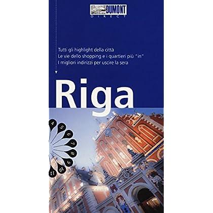 Riga. Con Carta Geografica Ripiegata