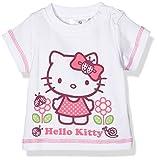 Twins Baby Mädchen T-Shirt Hello Kitty, Weiß (Weiss 4013), 68