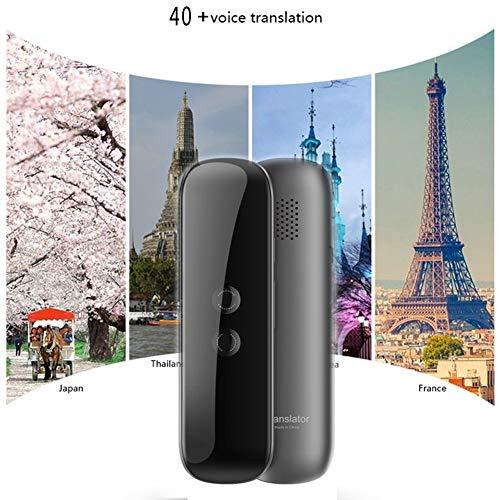 JINLO Tragbarer Bersetzer Instant Pocket Intelligenter Smart Tragbarer Geschenk Geben Fr Tragbare Business Lernen Mit 40 Sprachen Enence Reisen Einkaufen Sprach In Echtzeit