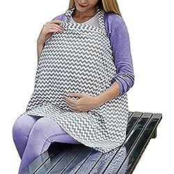 Couverture pour l'allaitement du sein Mère sein voiture Canopy pour les dépenses Shopping Covers Couverture pour bébés enfants douche tablier écharpe Châle