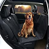 GHB Dog Car Seat Cover Back Seat Cover with Car Seat Belt Waterproof Nonslip Universal