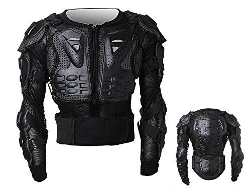 Peto Integral Moto, Motocross, Enduro, chaqueta Proteccion NEGRO M L XL XXL...