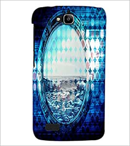 PrintDhaba Beer D-4865 Back Case Cover for HUAWEI HONOR HOLLY (Multi-Coloured)
