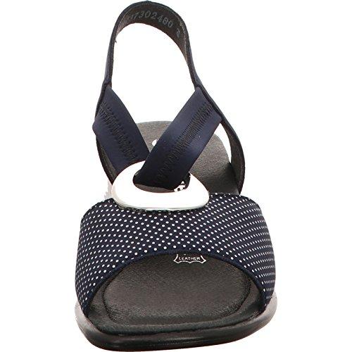 Remonte Sandalen in Übergrößen Blau R3633-14 Große Damenschuhe Blau