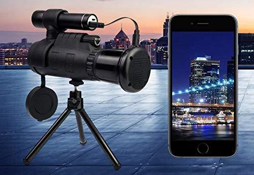 Wireless WiFi HD Outdoor 40 x 60 IR Nachtsicht Gerät Teleskop für iOS/Android
