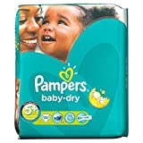 Pampers Baby Dry Size 5+ (13-27kg) Junior Plus x 35 per pack