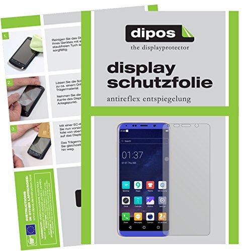 dipos I 2X Schutzfolie matt passend für BLUBOO S8 Folie Bildschirmschutzfolie